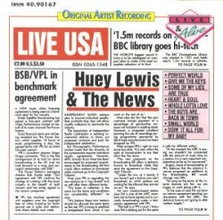 Now On Air:Huey Lewis & The News - Heart And Soul