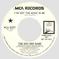 The Kiki Dee Band - I've Got the Music in Me (2008 Remaster)