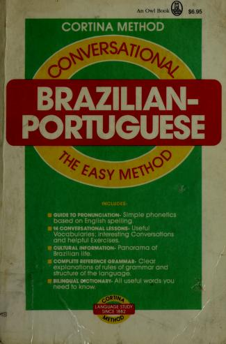 Cover of: Conversational Brazilian-Portuguese by Edwin Bucher Williams