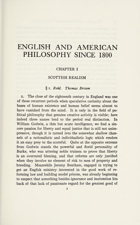 English and American philosophy since 1800 by Rogers, Arthur Kenyon