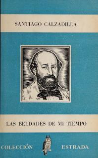 Cover of: Las beldades de mi tiempo | Calzadilla, Santiago