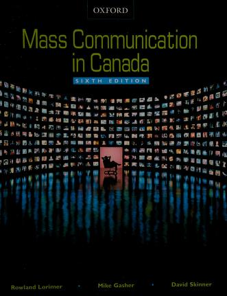 Cover of: Mass communication in Canada | Rowland Lorimer