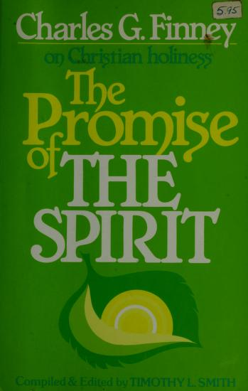 The promise of the spirit by Charles Grandison Finney