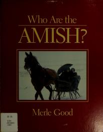 Cover of: Who are the Amish? | Good, Merle